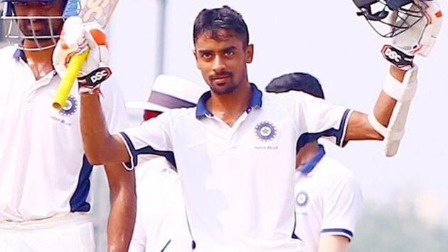 File image of Bengal cricketer Abhimanyu Easwaran(Twitter)