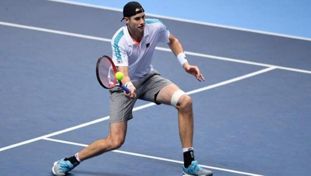 File photo of John Isner.(Reuters)