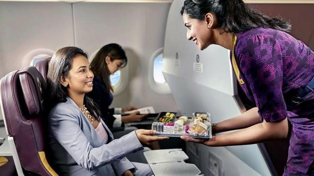 'Fly Higher', a new campaign by Vistara, urges travellers to settle for nothing but the best.(Vistara)