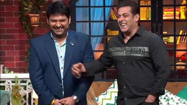 The Kapil Sharma Show is back on television and is produced by Salman Khan.
