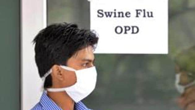 According to data provided by Gurugram district health department, 23 suspected cases of swine flu have been reported from across the district over the past one week.(HT Photo)