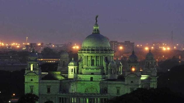 The made-over Victoria Memorial is likely to be inaugurated on January 31.(HT File Photo)