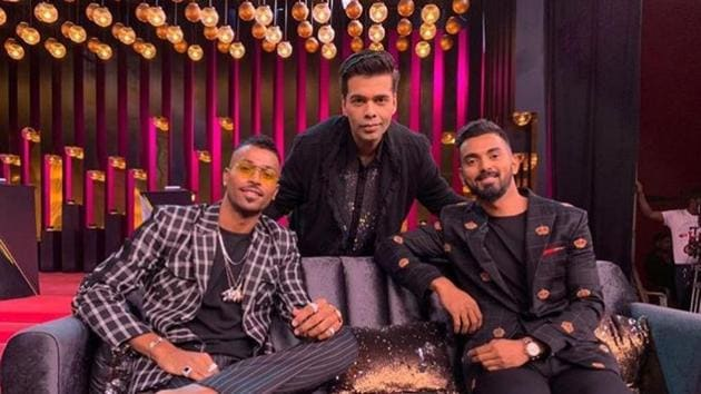 Team India players Hardik Pandya and KL Rahul had featured in the last Koffee With Karan episode.(Instagram)