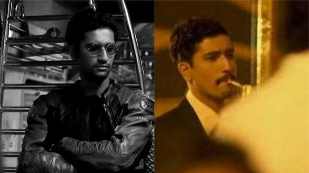 Vicky Kaushal in Geek Out and Bombay Velvet.