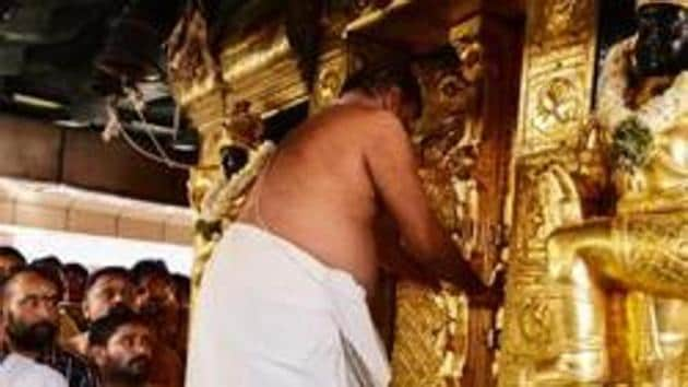 Travancore Devaswom Board, the apex temple body,Friday said it had not even discussed the matter.(AFP)