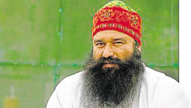 Dera Sacha Sauda chief Gurmeet Ram Rahim was on Friday convicted by a special CBI court for the murder of a journalist in 2002.(File Photo)