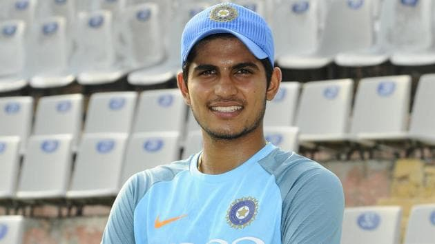 "Mohali India 24 July 2018::Indian Cricketer ""Shubman Gill"" at PCA Stadium in Mohali on Tuesday July 24, 2018(Anil Dayal/Hindustan Times)"