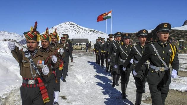 Twenty-two foot tracks measuring 750km are also in the works to support the movement of ITBP in Arunachal Pradesh.(PTI File Photo)