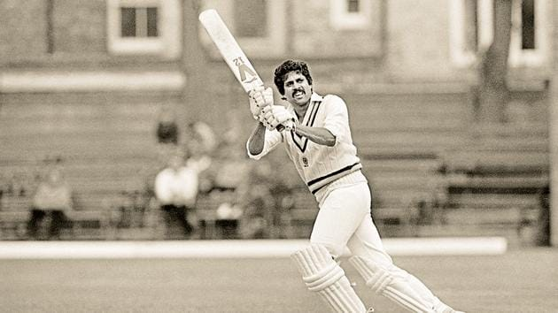 At the crease, there was the wonderfully free-flowing arc of Kapil Dev's bat, the power and the range of his stroke-making.(File Photo)