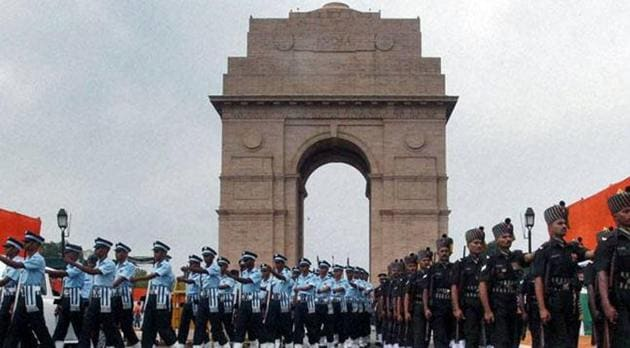 A woman ,believed to be in her mid-30s, came close to the Amar Jawan Jyoti at India Gate on Sunday morning during the rehearsal for the Army Day wreath-laying ceremony and allegedly raised pro-Pakistan slogans.(PTI/ Representative Image)