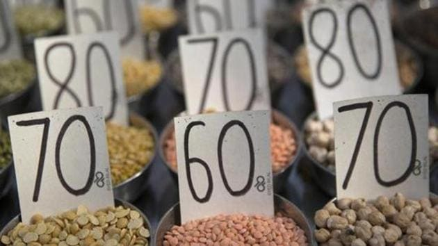 Inflation based on wholesale prices fell to a 8-month low of 3.80 per cent in December, 2018, on softening prices of fuel and some food items.(Bloomberg/ Representative Image)
