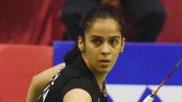 File image of Saina Nehwal.(Subhankar Chakraborty/HT PHOTO)