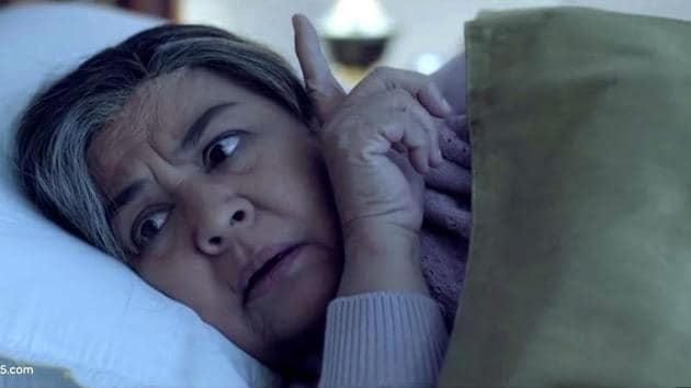 Farida Jalal plays a grandmother in her new horror web series Parchayee.