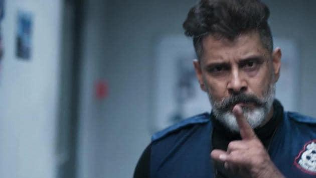 Kadaram Kondan teaser: Actor Vikram plays a hired gun in the film.