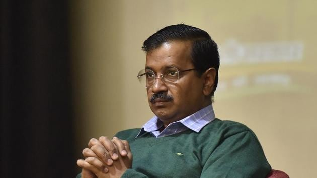 A man in his mid-twenties has been detained for questioning in connection with the anonymous email received by Delhi chief minister Arvind Kejriwal's office on January 9 threatening to kidnap the AAP leader's daughter,(Sonu Mehta/HT PHOTO)
