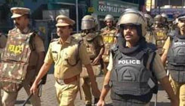 Sabarimala Temple Row: Two women in their early 30s, attempted to reach Lord Ayyappa temple in(HT Photo)