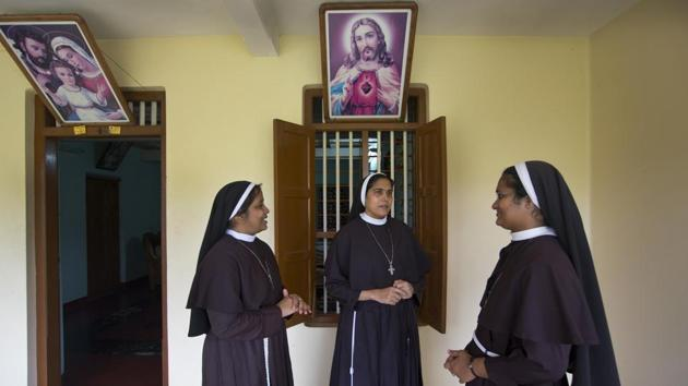 The nuns have since been hounded, asked to vacate their convent in Kuravilangad (Kottayam) and proceed to their previous vocations by their mother superior.(AP/File Photo)