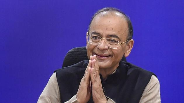 On the opposition's grand alliance (mahagathbandan), finance minister Arun Jaitley said the 'Nawabs of Negativity' may come together, but they wouldn't hold together or carry much credibility among the people.(AP)