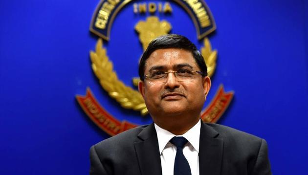 Rakesh Asthana appointed director of civil aviation security. (Photo by Arun Sharma/ Hindustan Times)(Arun Sharma/HT PHOTO)