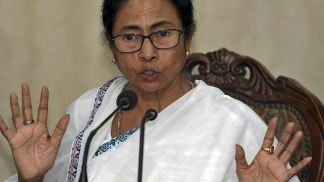 """Slamming Prime Minister Narendra Modi for his """"the 'Mahagathbandhan' (grand opposition alliance) is against the people"""" remark, Trinamool Congress chief Mamata Banerjee and TDP leader Chandrababu Naidu Saturday said the opposition leaders were not """"bonded labourers"""" who would dance to the PM's tune.(PTI Photo)"""