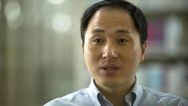 Scientist He Jiankui said in November that he used a gene-editing technology known as CRISPR-Cas9 to alter the embryonic genes of twin girls born that month, sparking an international outcry about the ethics and safety of such research.(AP Photo)