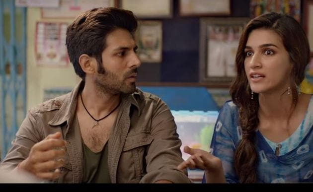Luka Chuppi trailer: Kartik Aaryan and Kriti Sanon are a first-time pair.