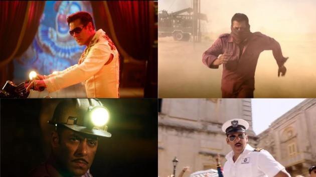 In Bharat teaser,Salman Khan sports six different looks.