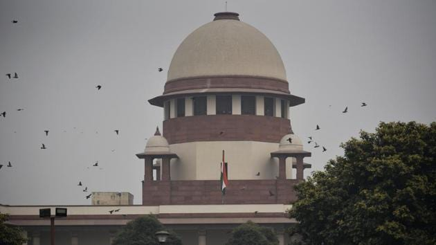 In a dreadful decision (V Surendra Mohan vs State of Tamil Nadu), the apex court ruled that a visual impairment or hearing disability above 50% rendered an otherwise competent candidate unworthy of being a judge. Ironical, given that the scales of justice are balanced by a blindfolded lady. But irony aside, let's tackle this at the level of the law as espoused in that sacrament we call the Constitution.(Biplov Bhuyan/HT PHOTO)
