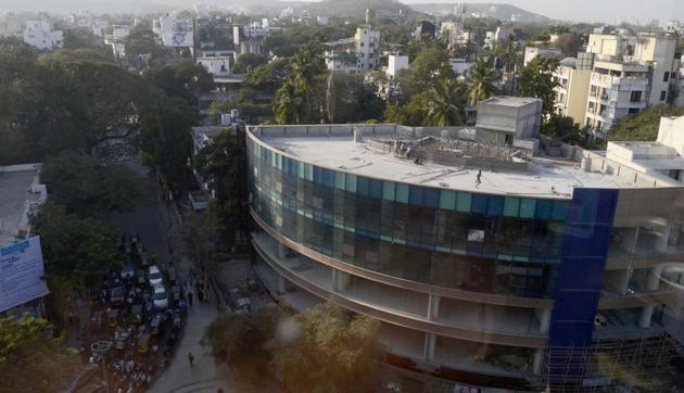 The first town planning scheme in Pune was developed at Bhamburda in 1979.(RAVINDRA JOSHI/HT PHOTO)
