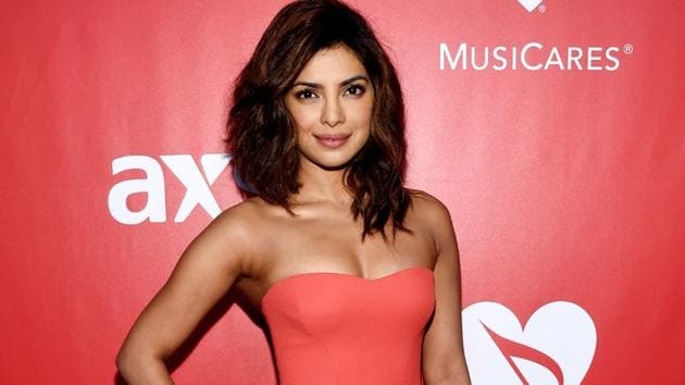 Priyanka Chopra seems to just love this colour and has been flaunting it since forever. (AFP)