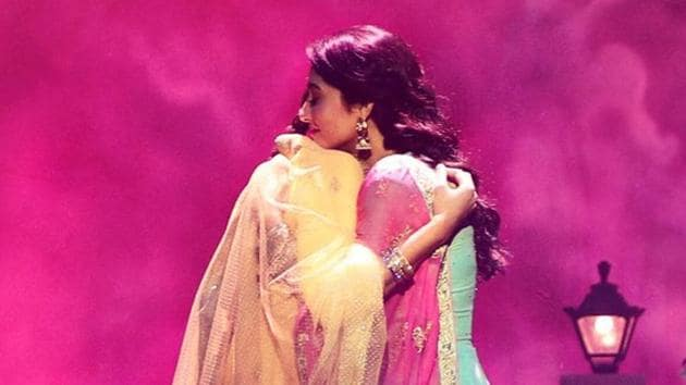 Sonam Kapoor and Regina Cassandra on the latest poster of Ek Ladki Ko Dekha Toh Aisa Laga.
