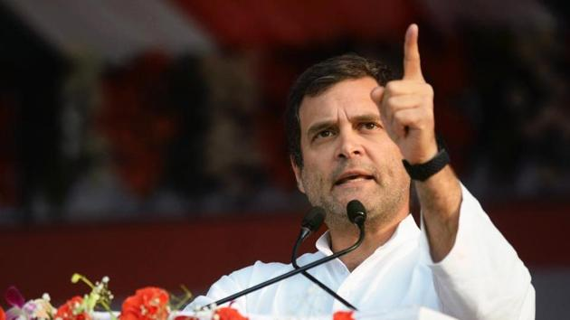 Rahul Gandhi also asked Piyush Goyal why he didn't speak about rising unemployment during his Budget speech.(ANI)