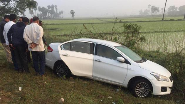 A non-resident Indian (NRI) industrialist from Florida in US Jayaram Chigurupati was found dead in his car in suspicious circumstances off the highway near Ithavaram early Friday, police said.(ANI Photo/Twitter)