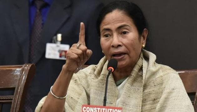 Mamata Banerjee described the interim budget for 2019-10 as a budget by a government that will be past its expiry date within a month.(Sanjeev Verma/HT PHOTO)