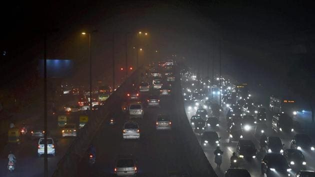 All Delhi-NCR vehicles must carry fuel stickers by October, said Supreme Court-appointed body Environment Pollution (Prevention and Control) Authority.(PTI File Photo)