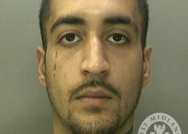 """A judge in the industrial city of Birmingham said Kasim Khuram's crime """"offended all human sensibility"""".(West Midlands Police)"""