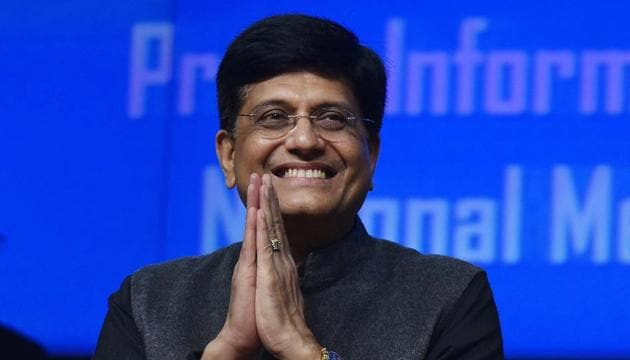 """With job seekers becoming job creators, India has become the world's second largest start-up hub,"" finance minister Piyush Goyal said in his interim budget speech.(Vipin Kumar/HT PHOTO)"