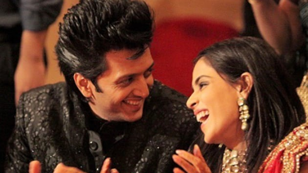 Riteish Deshmukh and Genelia D'Souza tied the knot in 2012.