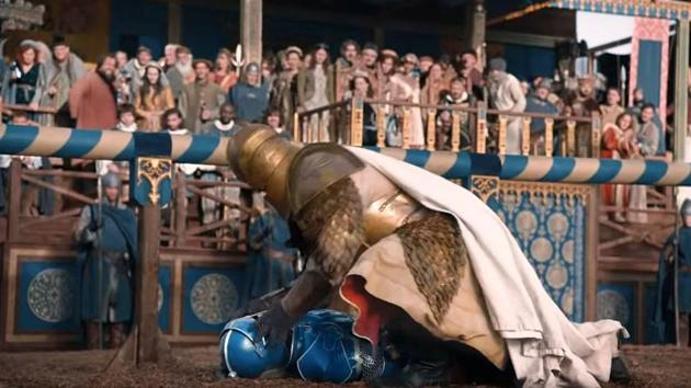 The Mountain crushed Bud Knight's skull in new ad.