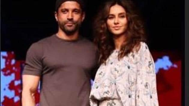 Farhan Akhtar and Shibani Dandekar first sparked dating rumours in 2018.