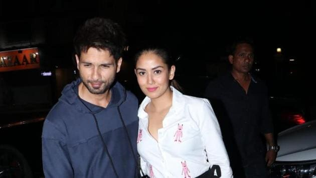 Shahid Kapoor and Mira Rajput have a son and a daughter together.(Varinder Chawla)