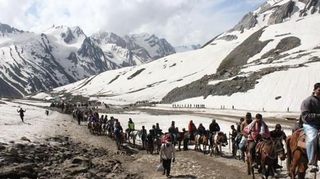 The report, released on Monday, predicts that a third of glaciers in the Hindu Kush and Himalayan region will thaw if average global temperatures rise by 1.5°C.(Picture for representation)