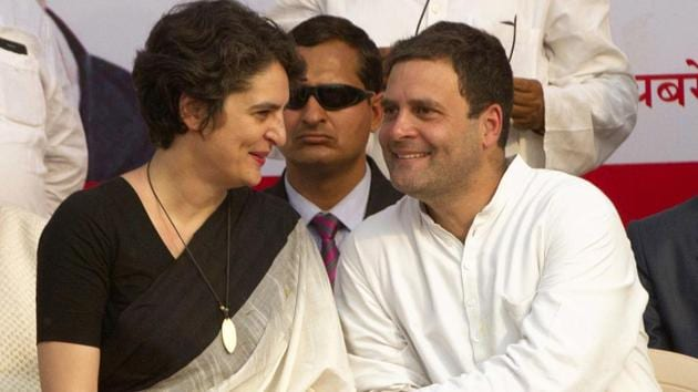 Rahul Gandhi had been ambivalent about Priyanka Gandhi's role outside Uttar Pradesh but party leaders had hinted that Priyanka, seen as a formidable campaigner, could be involved in other states as well.(AP File Photo)