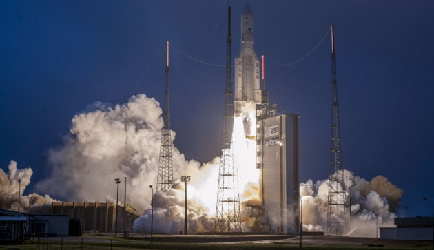 """The GSAT-31 is a """"high power"""" communication satellite with Ku-band, and it is going to serve and replace some of the satellites that are going to expire soon, he said further.(Arianespace)"""