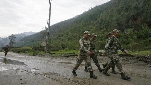 The roads along the country's northern border with China are spread across Arunachal Pradesh, Jammu & Kashmir, Sikkim, Uttarakhand and Himachal Pradesh.(Reuters)