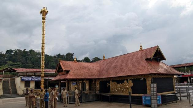 A Padmakumar, the president of the Travancore Devaswom Board (TDB) that runs the temple, expressed displeasure that he had not been kept in the loop about the latest position taken by the board.(REUTERS)