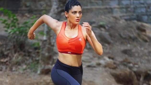 Saiyami Kher talks about running and how it helps her stay fit.
