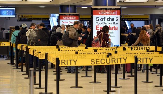Federal prosecutors on Friday announced that they arrested the Manhattan man, Jesus Wilfredo Encarnacion, on Thursday night at John F Kennedy International Airport as he was about to board an international flight with Pakistan being his final destination.(AFP/ Representative Image)