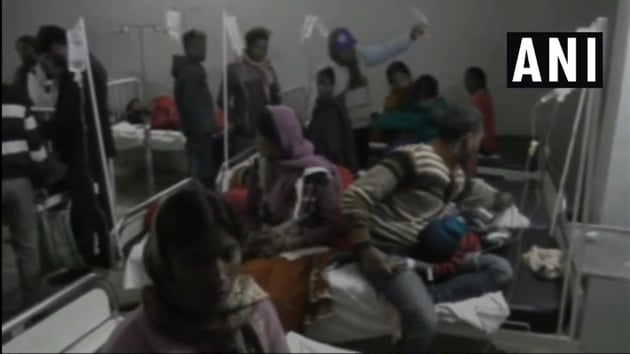 The children started vomiting after taking 'bundi' and have been admitted to the Sadar hospital.(ANI/Twitter)