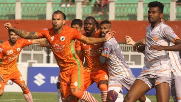 Chennai City FC and Neroca FC played out a draw.(AIFF)